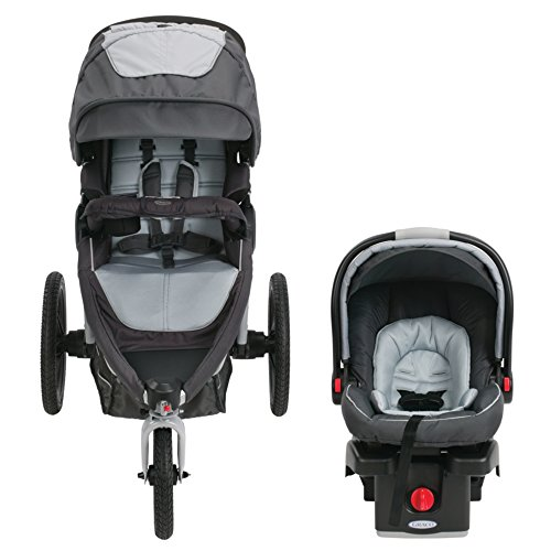Graco Relay Click Connect Jogging Stroller Travel System ...