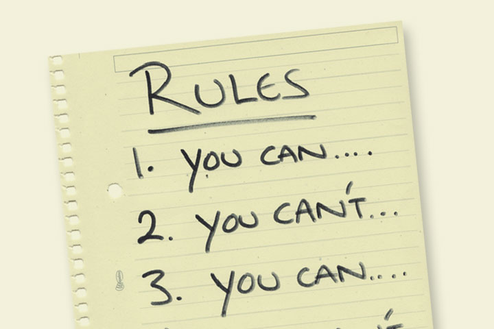 basic dating rules Family rules are good for you might need to choose your battles and focus on basic issues like these might include rules about alcohol use, sex, dating and.
